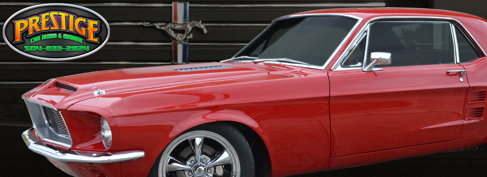 Harvey Client Gets Classic Mustang Stereo System Upgrade