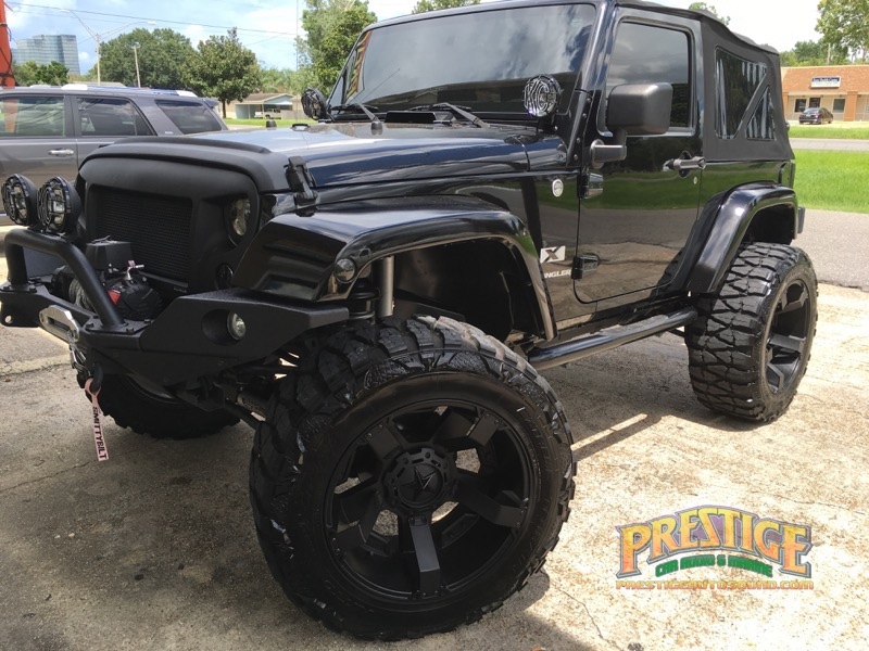 2007 Jeep Wrangler Audio System Upgrades For Metairie Client