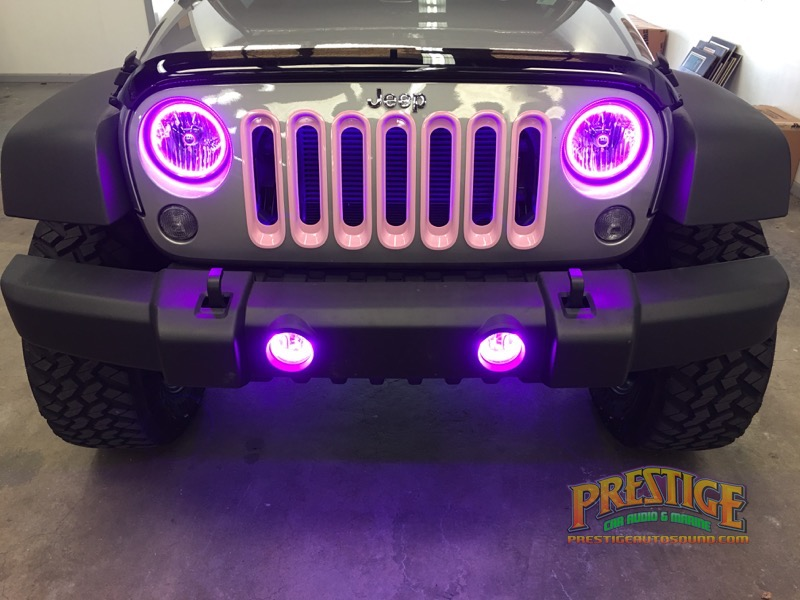 2016 Jeep Wrangler Lighting Amp Driver Safety Upgrades