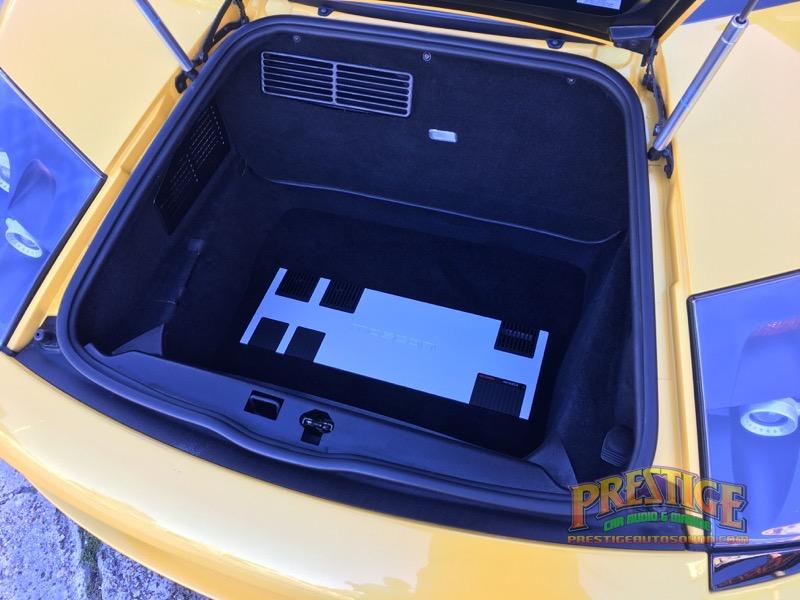2005 Lamborghini Murcielago Audio System Upgrade